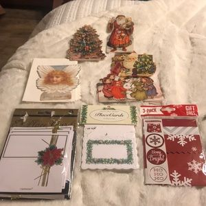 Bundle of XMAS tags, place cards & mini gift bags